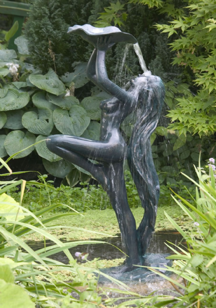 Rachel Green Verdis effect Lady Garden Pond Water Feature 1.45m